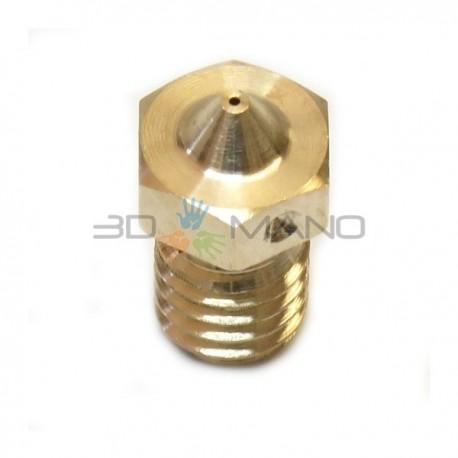 Nozzle 0.25mm E3D Originale in Ottone 1.75mm