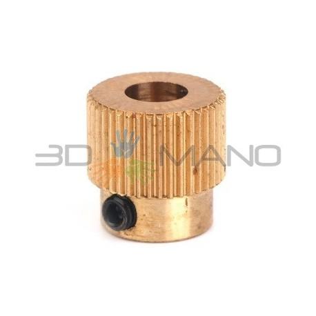 Puleggia 40T per Estrusione Filamento (5mm)