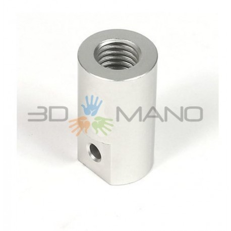Giunto Rigido in Alluminio M5 (5 x 5 mm)