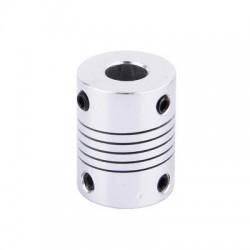 Giunto Flessibile in Alluminio M8 5 x 8 mm