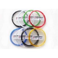 Campione Filamento 50g HDglass Clear PETG 1.75mm - FormFutura