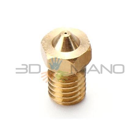 Nozzle 0.25mm E3D Compatibile in Ottone 1.75mm