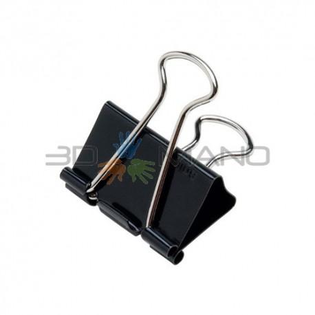 Binder Clip per Piano Stampa 25mm