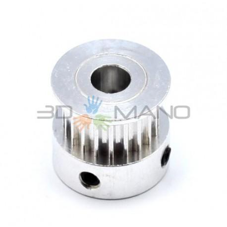 Puleggia in Alluminio GT2 20 Denti (5mm)