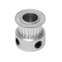 Puleggia in Alluminio GT2 20 Denti (8mm)