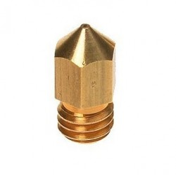 Nozzle 0.40mm MK8 in Ottone 1.75mm