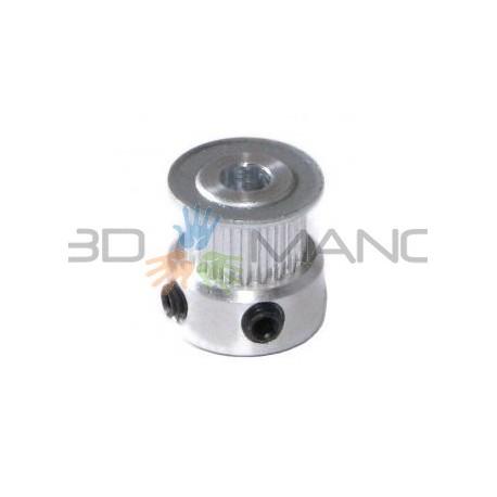 Puleggia in Alluminio T2.5 16 Denti (5mm)