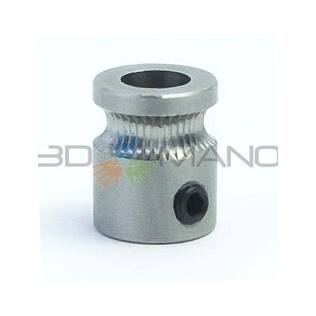 Puleggia MK8 per Estrusione Filamento (5mm)
