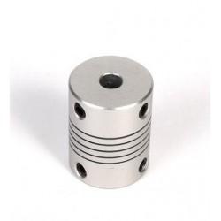 Giunto Flessibile in Alluminio 6 x 6 mm