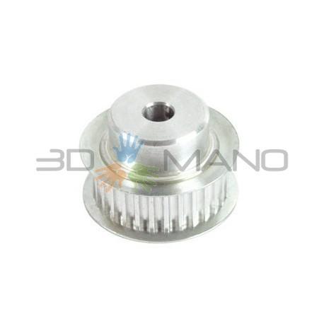 Puleggia in Alluminio GT2 36 Denti (5mm)