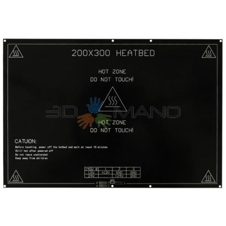 Piatto Riscaldato PCB 200x300mm (12/24 V)