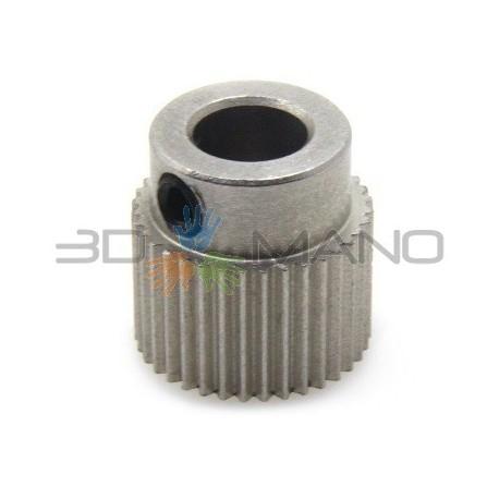 Puleggia 36T per Estrusione Filamento (5mm)