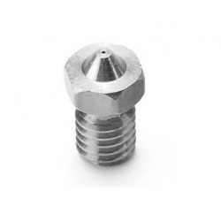 Nozzle 0.25mm E3D Compatibile in Acciao INOX 1.75mm