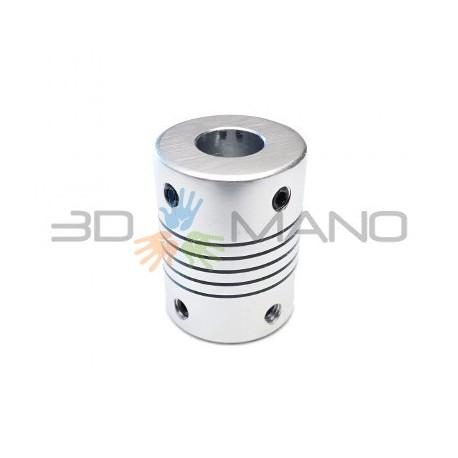 Giunto Flessibile in Alluminio 10 x 10 mm