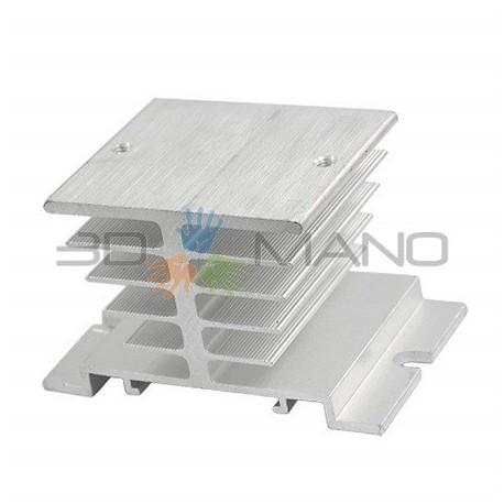 Dissipatore in Alluminio per Relè SSR