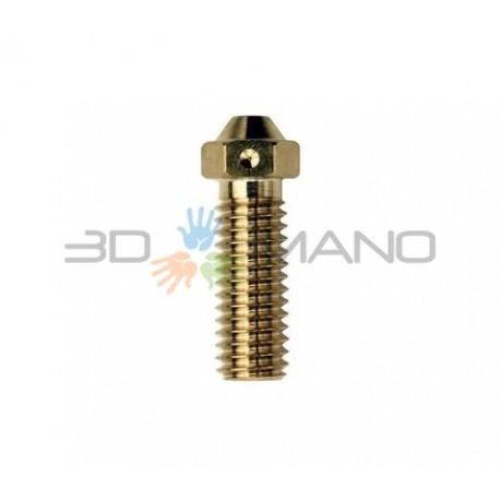 Nozzle 1.0mm E3D Volcano Originale in Ottone 1.75mm