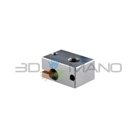 Blocco Riscaldante in Alluminio per HotEnd E3D V6 (Originale)