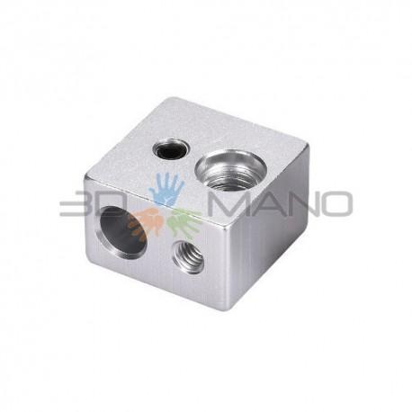 Blocco Riscaldante in Alluminio per HotEnd MK10